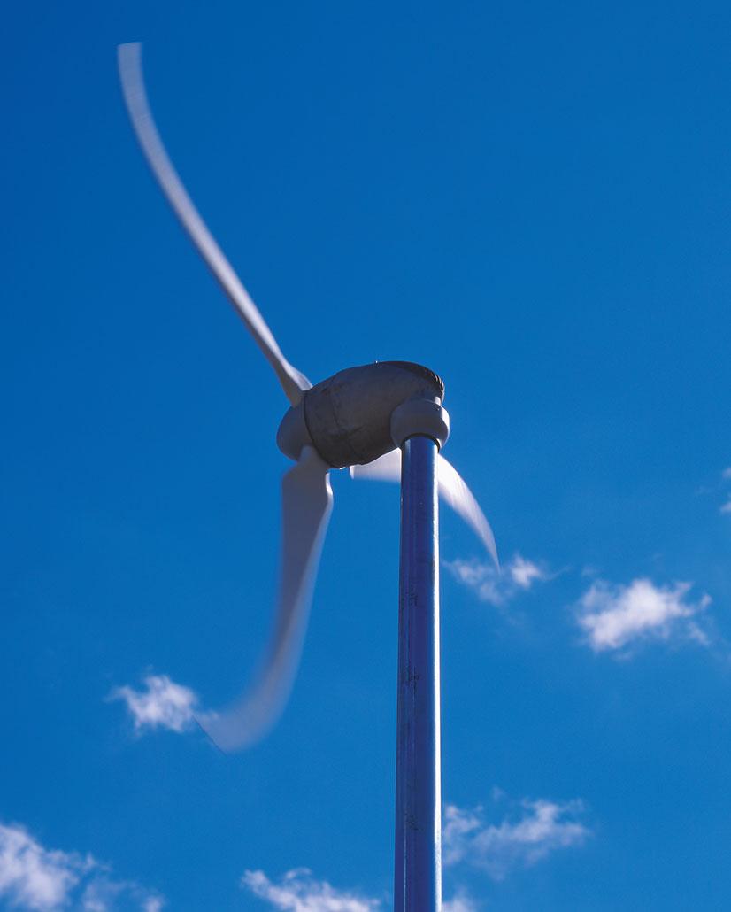 Luvtec Klein-Windkraft-Anlage