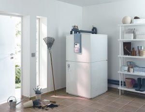 Luft-Wasser-Wärmepumpe für die Warmwasserbereitung